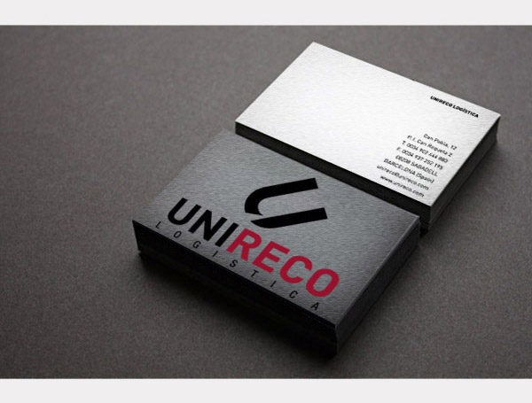 Business card. Cartolina Rives impressió offset